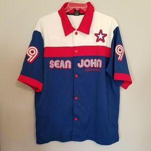 Sean John | 69 Baseball Warm Up Shirt | Size XL
